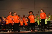Second Grade Singers!