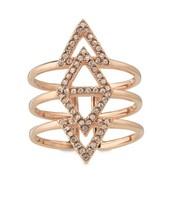 Pave Ring - Rose Gold
