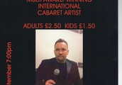 MULTI AWARD WINNING INTERNATIONAL CABARET ARTIS