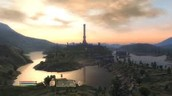 here is a image of the game oblivion and one of the major towns called syrodile