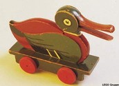 One of the first toys manufactured by LEego