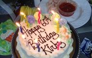 Birthday Cake at Erica's!