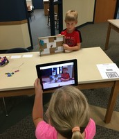 Students were creating ME Museums and posting to Seesaw!