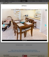 Solid inlay wood dining table and 4 chairs $150