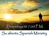 Su aliento Spanish Ministry