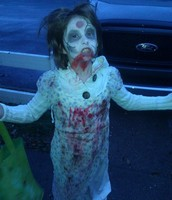 WHAT A KID ZOMBIE LOOKS LIKE