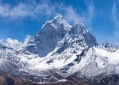 The Himalayas!