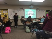 UN presentations in Ms. Grogan's class