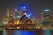 Why is Sydney Opera House was listed on the unesco world heritage site and when was it listed?
