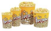 We have popcorn