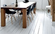 painted floorboards