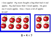 Addition Math story