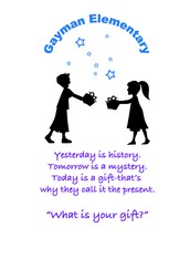 """""""What Is Your Gift"""" T -Shirts"""