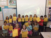 They kept all 15 of their tokens this week!  Congrats!