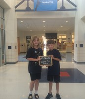 4th Grade August Students of the Month