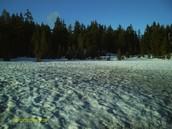 Snow at Crater Lake