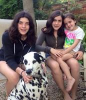 Olivia, Caroline, and Leo