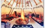 this is a an tipi inside