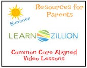 LESSON VIDEOS FOR THE WEEK OF MAY 4-8
