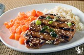SAVORY GRILLED CHICKEN WITH SESAME HONEY BUTTER