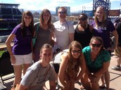 Team outing at the Rockies Game!
