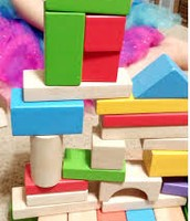 Use blocks as measuring tools or to build structures