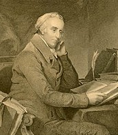 Benjamin Rush writing his book