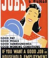 Women Work Poster For advertising WPA For Women also