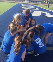Freshman Cheerleaders--Team Bonding!