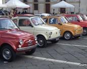 Fiat 500 Vintage tour door de stad