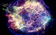 X-Ray image of Cassiopeia A