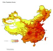 China's Population Map