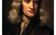 A portrait of Issac Newton