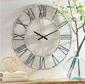 Addison Cream Wall Clock