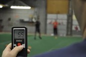 Pitching radar gun