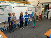 Zane, Kian, Maisey, Genevieve & Riley K. perform their citizenship skit!