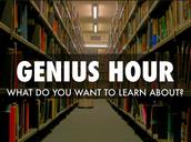What is Genius Hour? Que es Hora de Genio