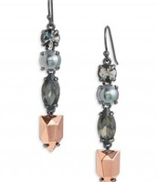 Kahlo linear earrings