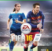 For the first time ever FIFA has included a woman on the cover