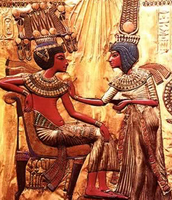 The pharaohs got pick to get married.