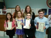 Southhampton Library Book Contest Winners - Mrs. Orr's 5th Grade Class