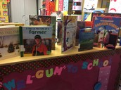 Displaying books encourages reading!