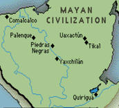 Where Mayans lived