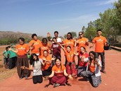 My time volunteering in India!