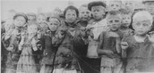 Children in the camp