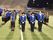 Marching Band takes 1st