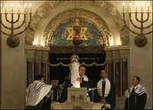 Rabbi holding a Torah
