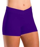Purple Dance Shorts