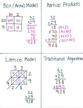 Multiple Strategies for Multiplication
