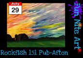 Rockfish 151 Pub - Afton!